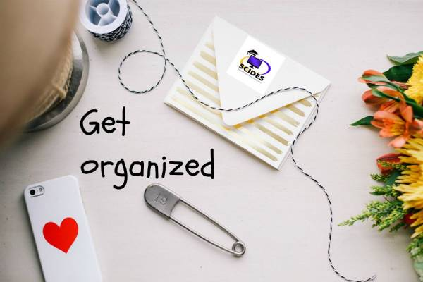 Get organized for the new school year